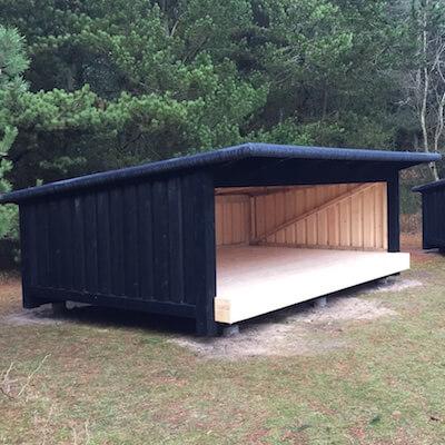 Shelters i Uggerby